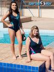 再加上尺寸线和基本健美操游泳和水