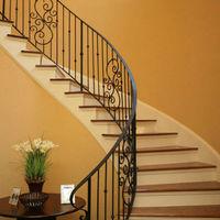 Wrought Iron Stair Railin -